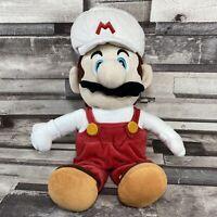 "Genuine White Super Mario Fire 2012 Nintendo Super Smash Brothers 10"" Plush GC"
