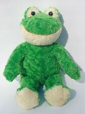 Build A Bear Frog Green Smiling Stuffed Plush Animal Toy 18� Collectible Doll