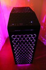 NEW MULTI COLOR Gaming PC Desktop Computer 3.7 GHz 500GB 8GB RAM WIN 10 PRO WIFI