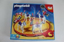 PLAYMOBIL Circus Horse Act Playset 4234 Complete NRFB Retired
