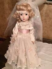 Vintage 14� Nancy Arranbee Bride Doll