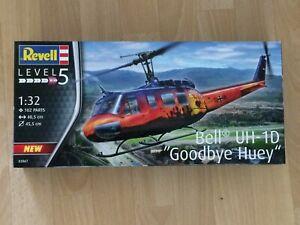 "Revell  1/32 UH-1 D  ""Goodbye Huey"""