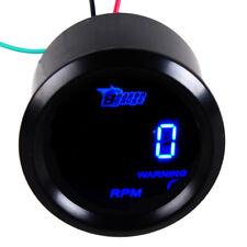 52mm Drehzahlmesser Tachometer Auto KFZ Blau LED Anzeige Digital KFZ Instrument