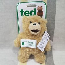 Ted Bear From The Movie Ted Talking Soft Toy Plush Backpack Clip. NEW n