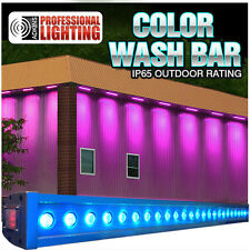 "40"" Color Wash Bar RGB Tri-Color 24x3W LED - IP65 Outdoor Waterproof"