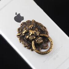 Universal Vintage Finger Ring Holder For Cell Phone / Tablet - BRONZE LION