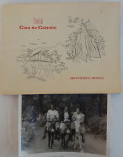 1958 Photo African American Ladies on Donkeys Hotel Cola de Caballo, Mexico