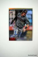 2020 Topps Stadium Club Chrome Josh Rojas RC AUTO REFRACTOR D'Backs