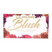 L.A. Colors Blush Color & Contour 10 Color Blush Palette