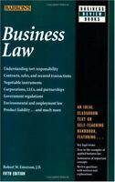 Business Law (Barrons Business Review Series)
