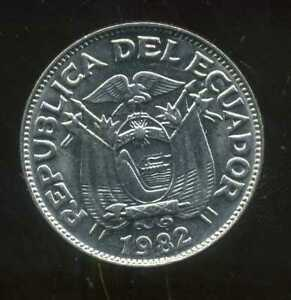 EQUATEUR  50 centavos  1982  ( bis )