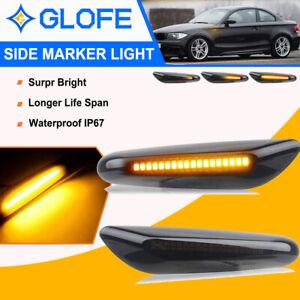 LED Seitenblinker für BMW 5er E60 Limousine   E61 Touring   SCHWARZ