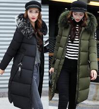♥Damen-Wintermantel Parka Winterjacke dick gefüttert mit Kapuze+Größe 34-46+NEU♥