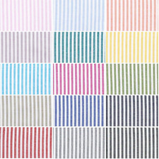 100% Yarn Dyed Cotton Fabric John Louden Candy Stripes Lines  (144cm Wide)