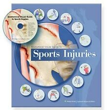 Anatomical Chart Company Visual Guide to Common Sports Injuries Book