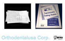 Orthodontic CEPHALOMETRIC PAPER TRACING Orthodentalusa Corp. Item 175-2052 USA