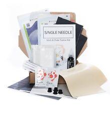 Complete Sterile Hand Poke Kits - Stick & Poke Tattoo - DOUBLE PRACTICE SET