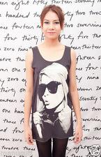Blondie Debby Harry US ROCK POP ART Indie WOMEN T-SHIRT TANK TOP Dress Size S M