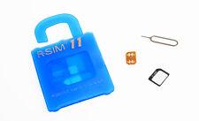 For iPhone 7 &6S&6&5&4S R-SIM11 General Nano Cloud Unlock Card IOS10 9.X&8.X&7.X