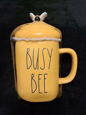 Rae Dunn Yellow Busy Bee Mug