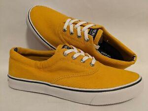 Sperry Striper II Vintage CVO Golden Yellow Shoe Men's Shoe Size US 9