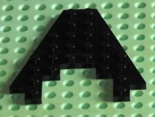 LEGO BLACK WING 8 x 8 WITH 3 x 4 CUTOUT PART REF 6104