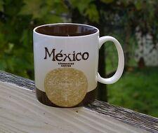 Starbucks Coffee Company 2009 Collector Series Mexico 16oz Mug Cup Brown Maya