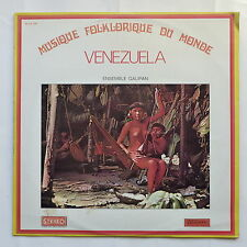 Musique folklorique du monde Venezuela Ensemble GALIPAN 30 CV 1101