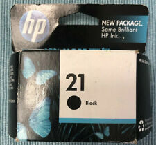 HP 21 Desk jet Officejet Black Original Ink Cartridges Expired
