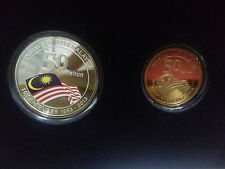 Malaysia day Silver Proof Coin set of 2 series no.772
