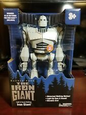 "Free Shipping Iron Giant figure 14"" Light & Sound Walking In hand"