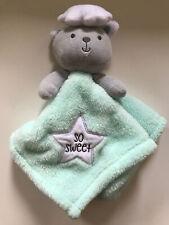 Baby Gear Unisex Lovey Baby Secutiry Blanket Gift Bear Cloud Start So Sweet