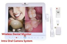 15 Inch Wireless Dental Monitor +IntraOral Camera System With LCD holder MD1500