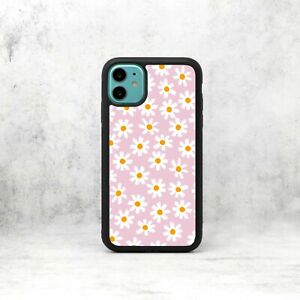 Pink Daisies Daisy Flowers Pattern Phone Case/Cover For iPhone Samsung Galaxy