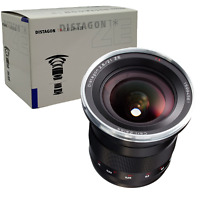 New Carl ZEISS Distagon T * 21mm f2.8 ZE Lens for Canon EF EOS - Made in Japan