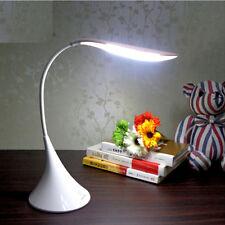 Creative Swan Shape Flexible Table Lamp LED Rechargeable Desk Light + AC Adapter