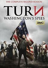 TURN: Washington's Spies: The Complete Second Season 2 (DVD, 2016, 3-Disc Set)