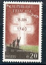 STAMP / TIMBRE FRANCE NEUF 1264 ** APPEL DU GENERAL DE GAULLE