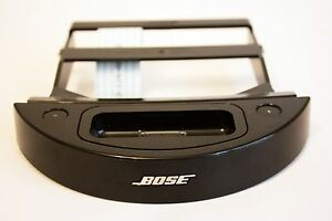 """Black Bose Sounddock Series 1 """"TYPE B"""" 30 Pin Connector Complete w/ Bracket ect."""
