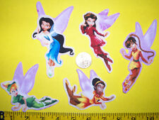 New! Cool! DISNEY TINKERBELL Iron-on Fabric Appliques ~ Iron ons