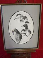 Framed Print Eastern Egg Rock Muscongus Bay Maine Karen Lynn Allaben-Confer 1986