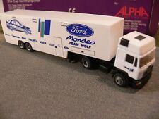 1/87 Herpa Albedo MAN SZ Ford Mondeo Team Wolf