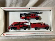 Wiking Magirus Deutz Kran Fire Defense Truck Set (cc)
