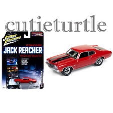 Johnny Lightning 1970 Chevy Chevelle SS Jack Reacher 1:64 Diecast JLCP6002 Red