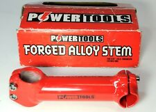 NEW RED POWER TOOLS ALLOY BICYCLE 1 1/8 THREADLESS 135 MM REACH 25.4 CLAMP STEM