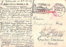 316644) DR SST Blg. Koblent Luxemburg Festungs- u. Grossstadt im Moselland 1943