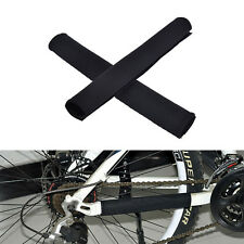 2X Cycling Bicycle Bike Frame Chain stay Protector Guard Nylon Pad Cover WraEBN