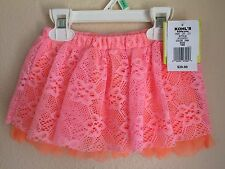 Kohls Baby Starters 18 Month Pink Coral Lace Tutu Skirt NWT $20