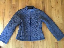 Patagonia Women��s Size Small Gray Quilted, Puffer, Zip Up Jacket