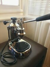 La Pavoni Expresso /Cappucino coffee machine Stainless Steel.  Perfect Condition